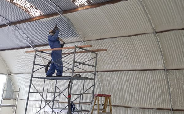 Barn Spray Foam Insulation