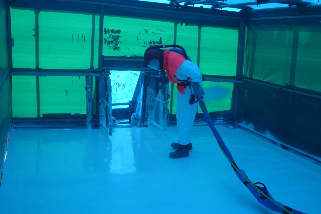 Polyurea Flooring Spray