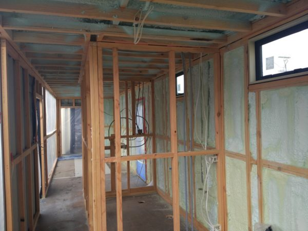 Spray Foam insulation as Shipping Container Insulation