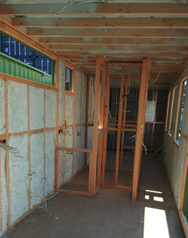 Container Home Shipping container insulation