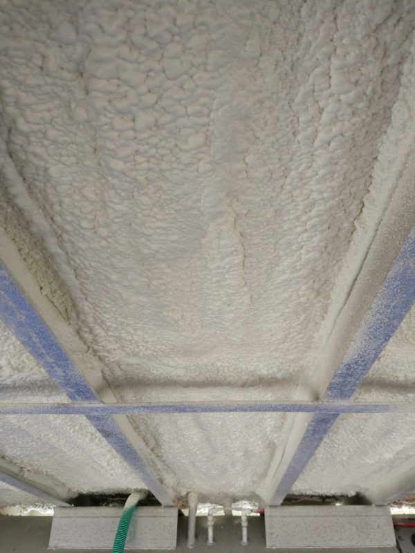 Spray Foam Insulation Used for Buoyancy